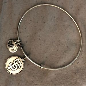 San Francisco Giants Alex and Ani Bracelet Silver